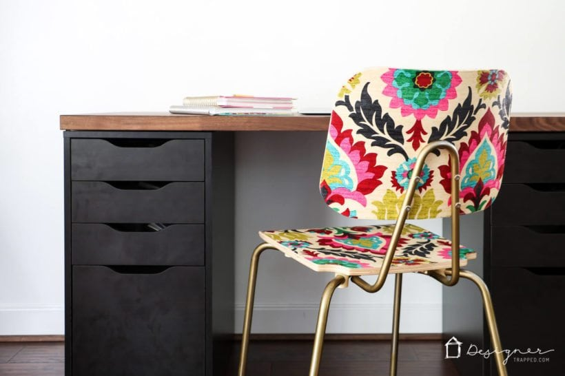 DIY modge podge chair