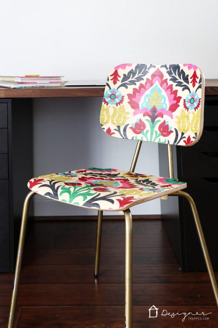 How To Decoupage Furniture For An Upholstered Look