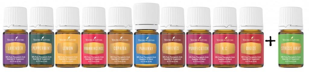 new young living starter kit oils