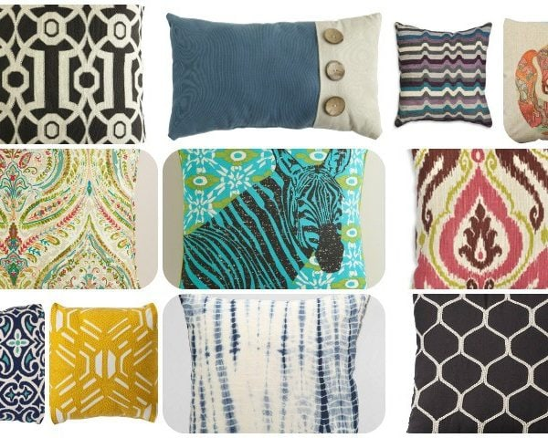 Best Sources for Affordable Throw Pillows