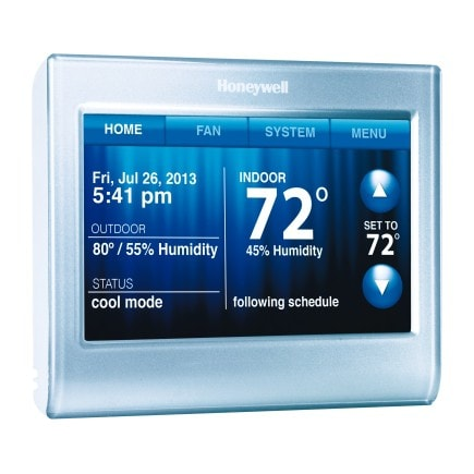 Outsmart erratic weather with a smart thermostat that you can control with your smart phone! #sponsored
