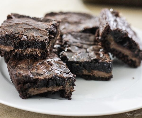 Candy Bar Brownies that will KNOCK YOUR SOCKS OFF!
