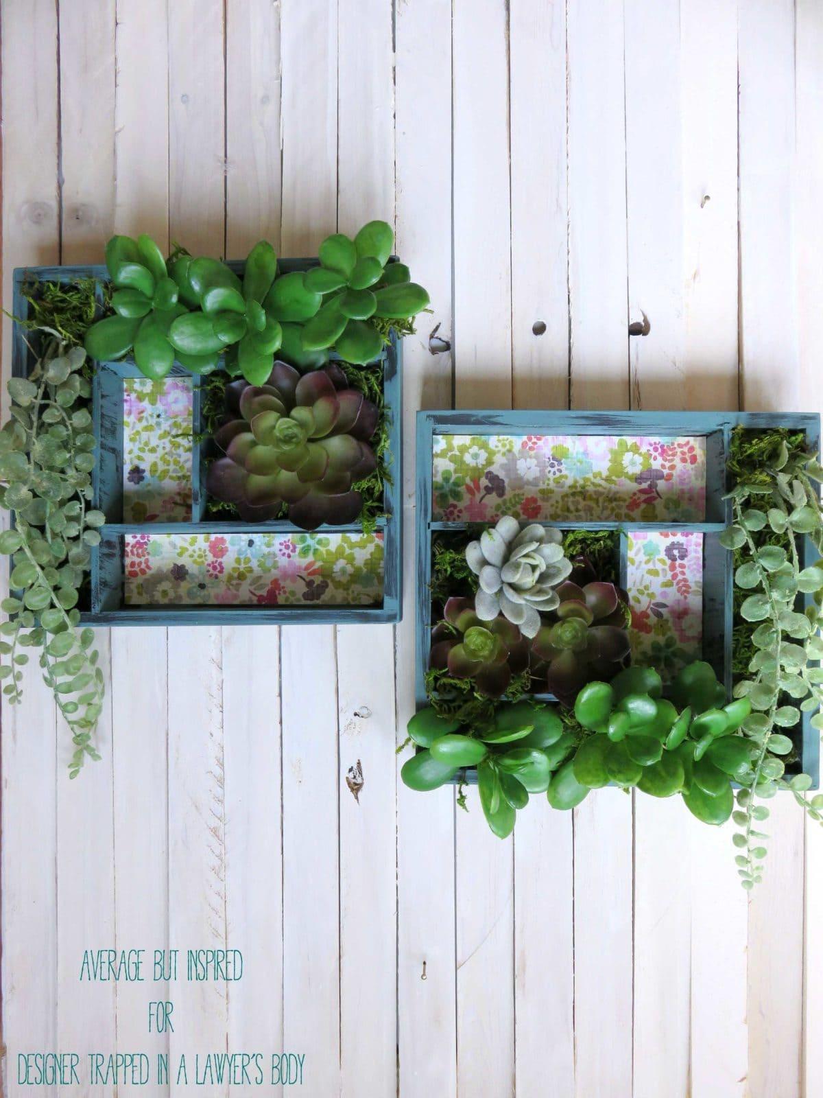 Learn How To Make A Vertical Succulent Garden
