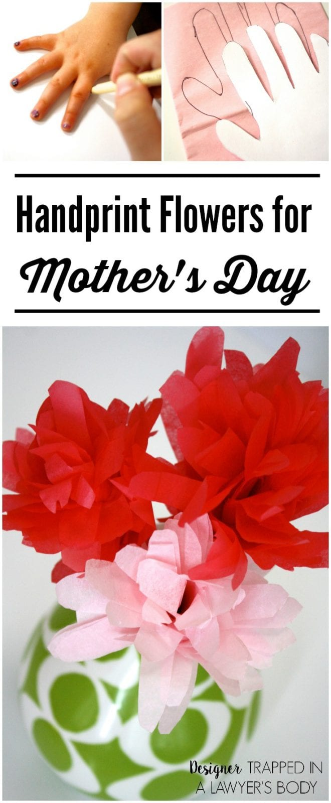 Handprint Flowers Perfect For Mother S Day