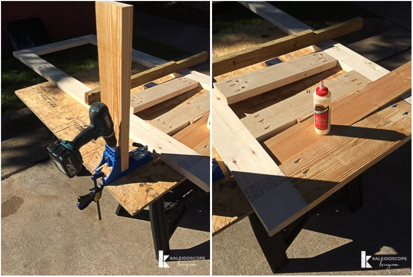 diy screen door assembly