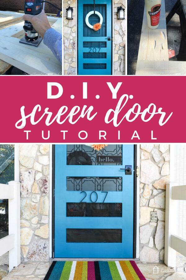 screen door DIY