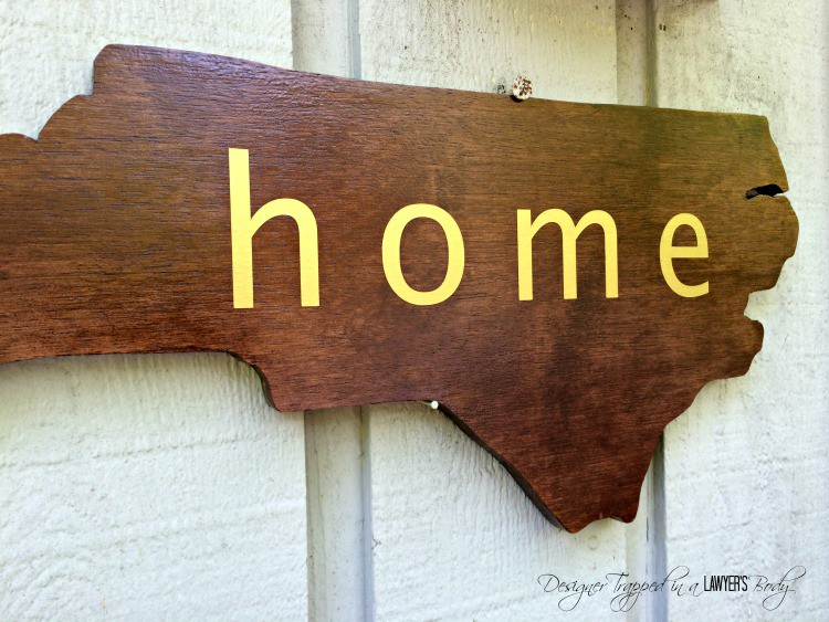 This is FABULOUS! Come learn to make a DIY wood state. It's easy and adds such a wonderful touch to any room or entry! Full tutorial by Designer Trapped in a Lawyer's Body!
