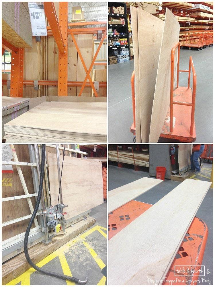 plank wall wood