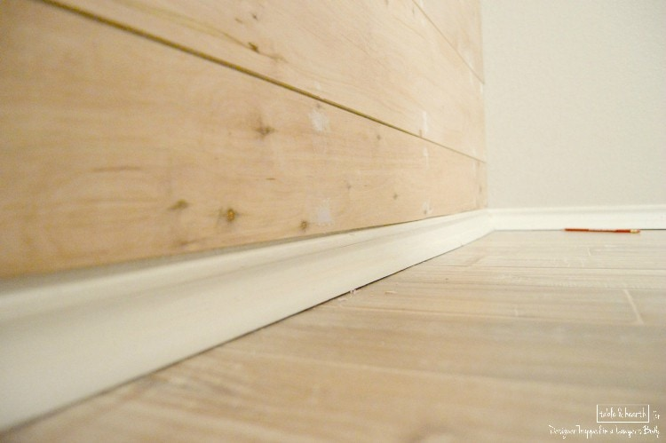 Diy Wood Plank Wall A Full Tutorial