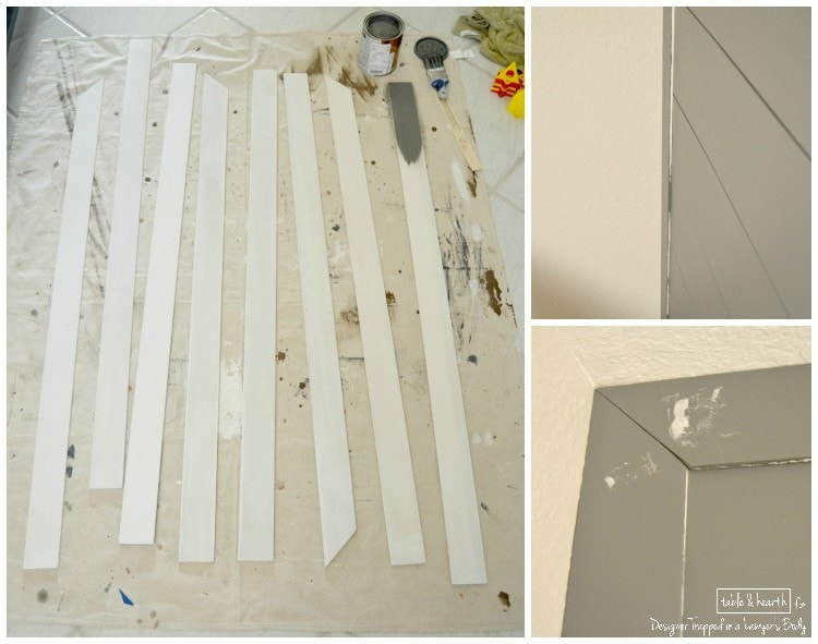 plank wall trim