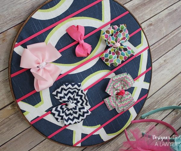DIY Hair Bow Holder