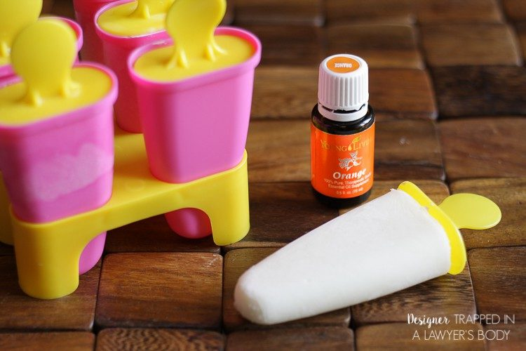 PERFECT FOR SUMMER! Come learn to make HEALTHY orange creamsicles that your kids will love!