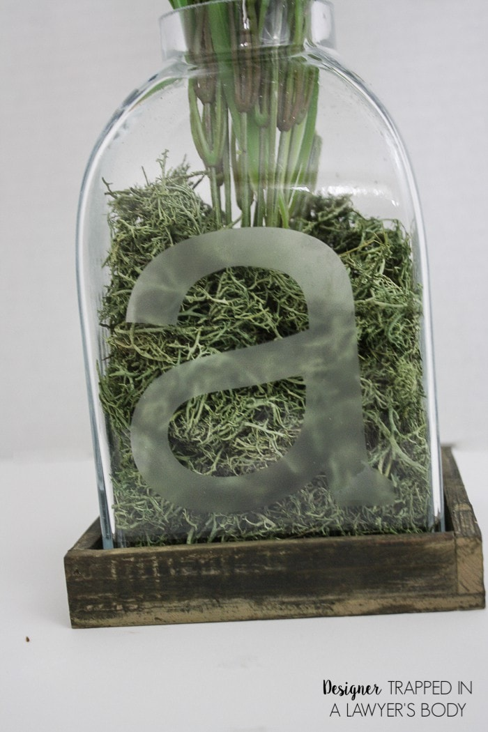 Diy Etched Glass Vase Tutorial Easier Than It Looks