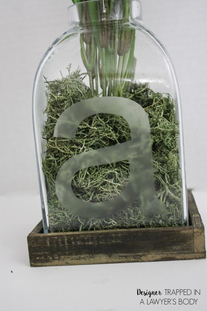 diy etched glass vase tutorial easier than it looks. Black Bedroom Furniture Sets. Home Design Ideas