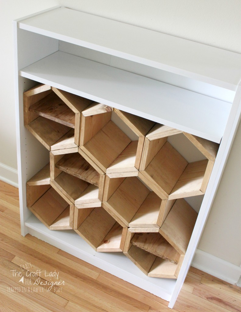 hexagon shoe rack by kaleidoscope living