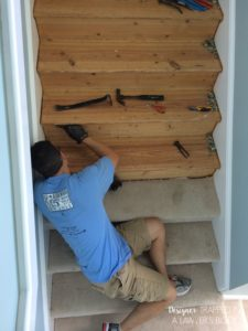DIY stair renovation