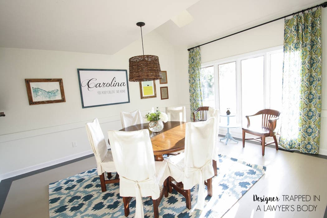Dining Room Makeover REVEAL | Designer Trapped