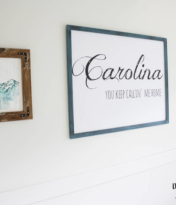 DIY Wall Art – Big impact, small cost!