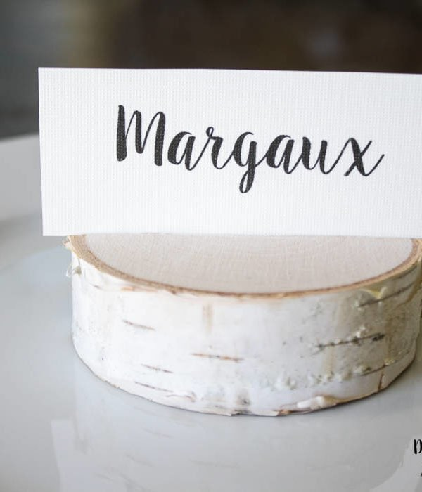 DIY Place Card Holders:  Knock Out Knock Offs No. 4