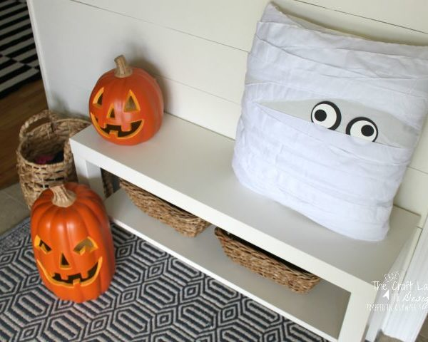 Pottery Barn Inspired Halloween Entry + 2 Simple Knock-Offs