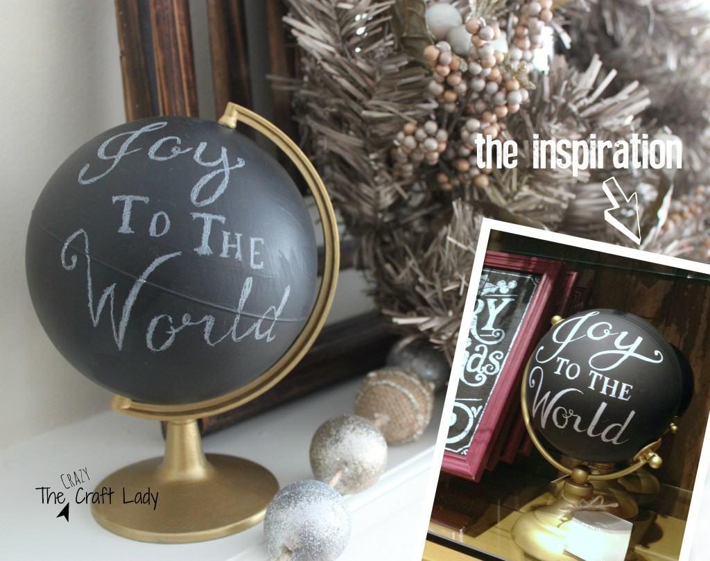 PB-Inspired Joy to the World Globe