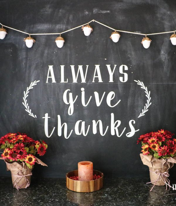 Fall Chalkboard Art and Decor!