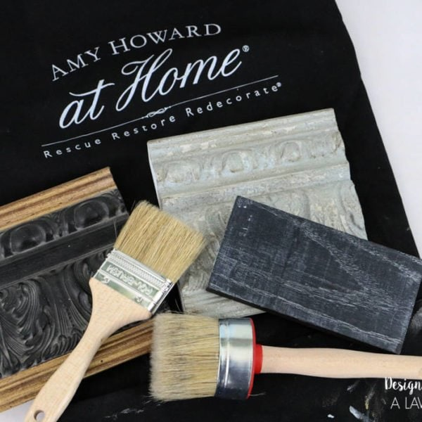 LIFE CHANGING PAINT! Y'all, the Amy Howard At Home paint is amazing! I will NEVER use another paint on furniture again! Full details and examples from Designer Trapped in a Lawyer's Body.