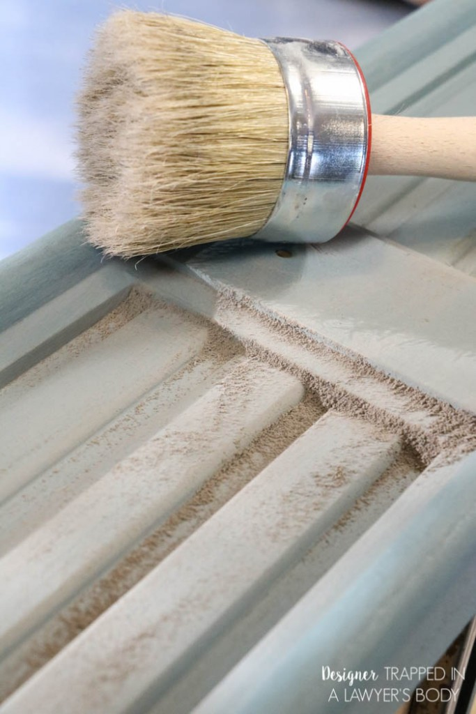 After your surface has complete coverage, wipe off the excess with a clean lint-free rag. This ending step will also help polish the edges into a beautiful sheen.