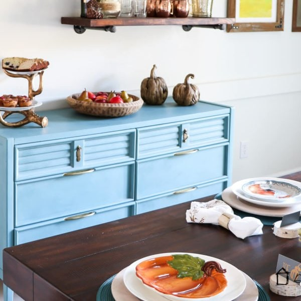 DIY painted furniture tutorial