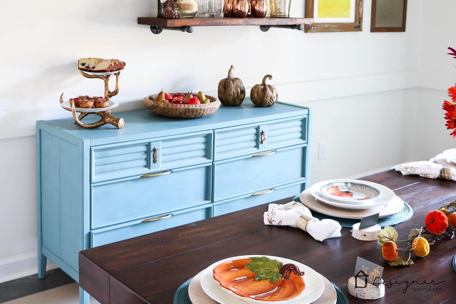 DIY painted furniture tutorial