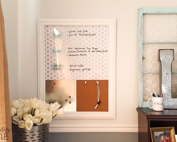 How to Make a Memo Board from an Old Picture!
