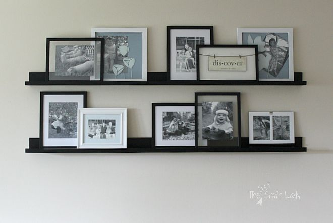 "Creating a ""No Commitment"" Gallery Wall"