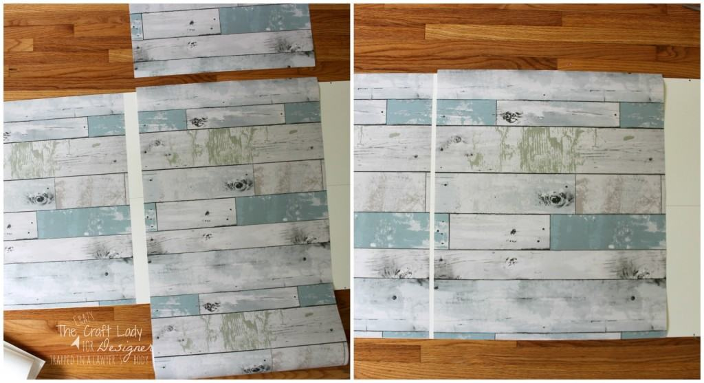 LOVE THIS! Learn how to update inexpensive furniture without sanding or using power tools. This AMAZING tutorial shows how to get the look of reclaimed wood with a fraction of the work and time!