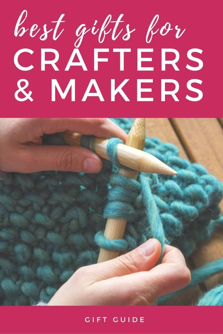 The best gifts for crafters and makers may not be obvious to everyone, but with this ultimate gift guide for crafters and makers anyone can find what they need/want!