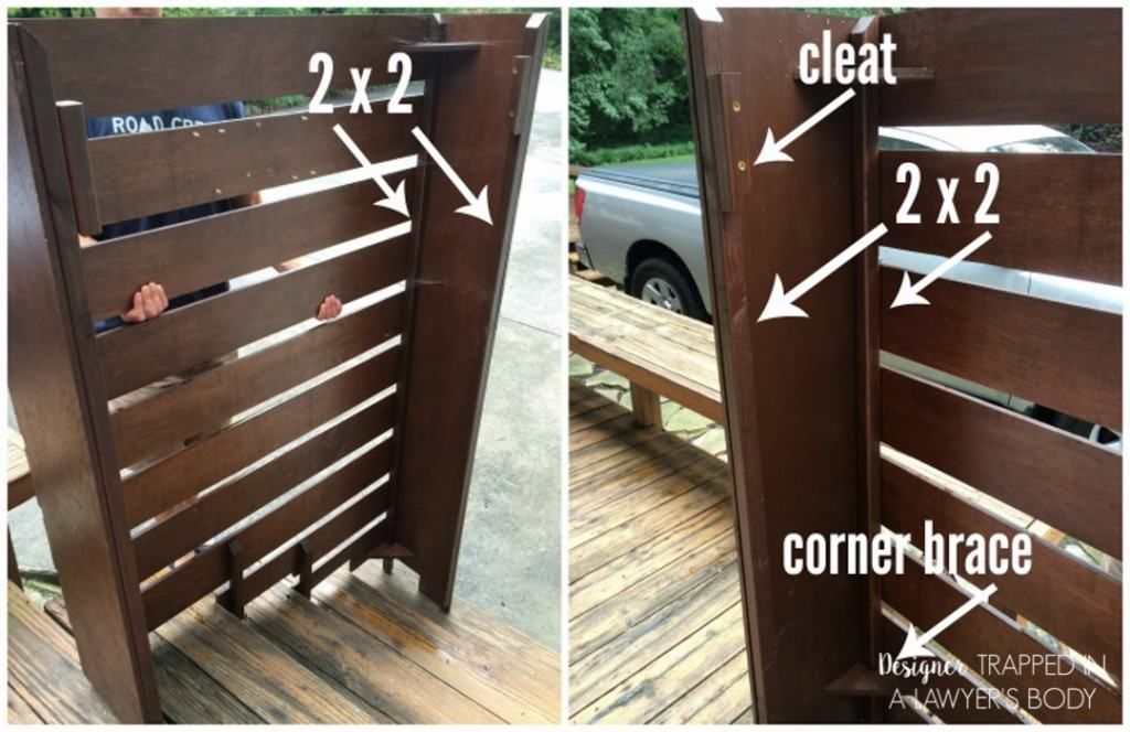 WOW! Brilliant idea to cover ugly utility boxes. Learn how to make a DIY utility box cover with this awesome tutorial by Designer Trapped in a Lawyer's Body.