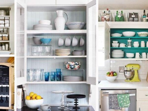 Inspiring Kitchen Cabinet Organization