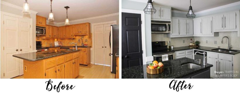 "Are you wondering ""should I paint my kitchen cabinets?"" Be sure to ask"