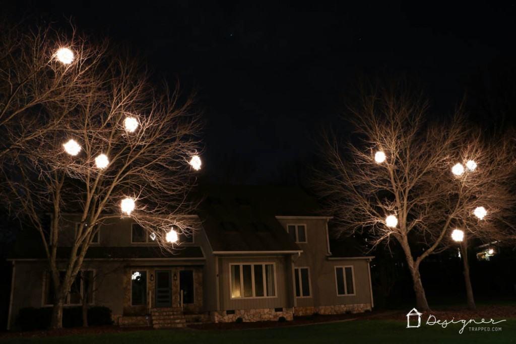 Christmas Light Balls.How To Make Lighted Christmas Balls Kaleidoscope Living