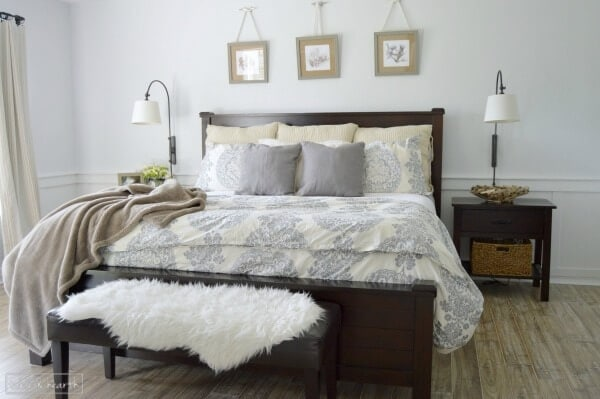 Does your master bedroom need a makeover? Check out this post, full of DIY master bedroom makeover inspiration rounded up by Designer Trapped in a Lawyer's Body.