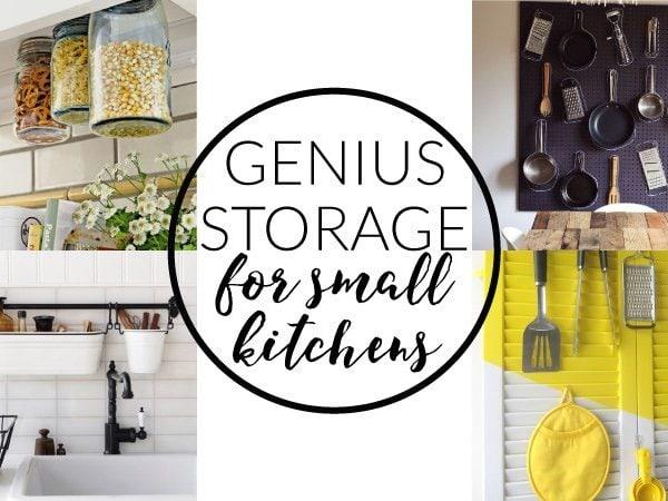 Small Kitchen Storage Ideas