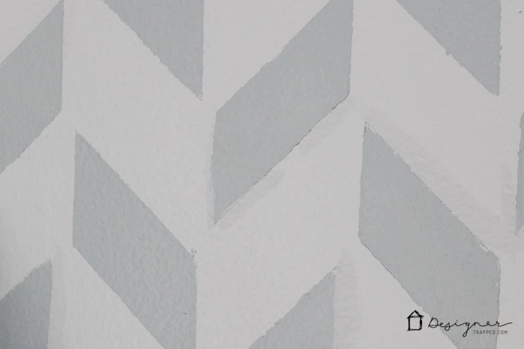 Foyer updates with Zibra paint brushes | designertrapped.com