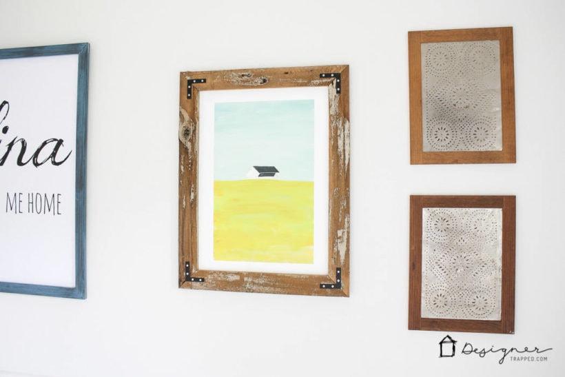 DIY framed pictures