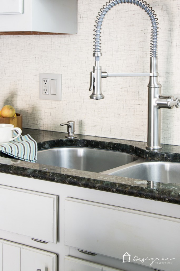 Finally! A beautiful faucet that is flexible AND powerful. I think I am in love! #spon #KohlerIdeas