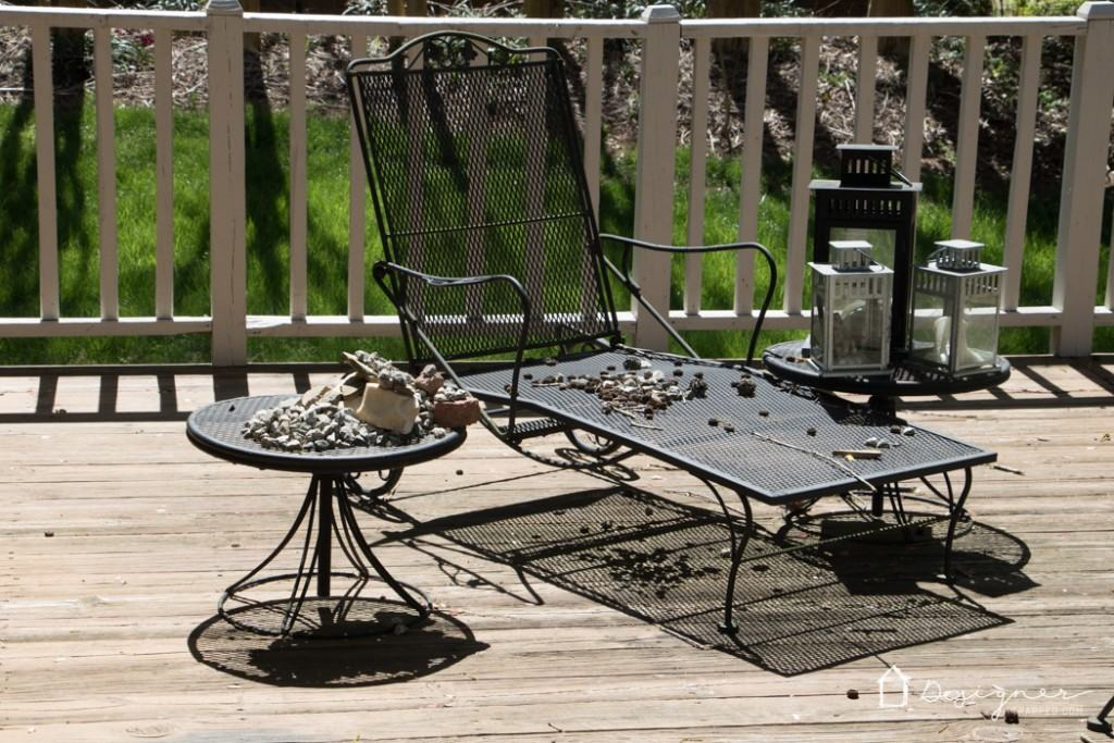 Come see my plans to spruce up my outdoor space with At Home and HGTV! #ad #athomefinds