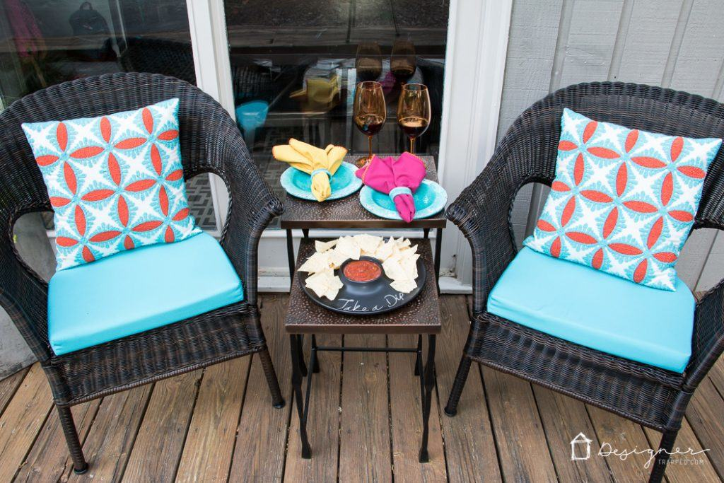 Small Porch Ideas Reveal Kaleidoscope Living