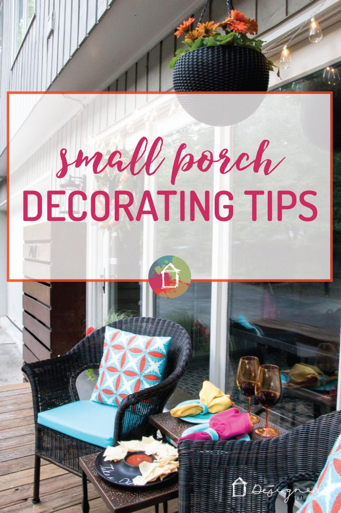 OMG--love this! Such great small porch ideas. Makes me want to decorate my small porch ASAP!