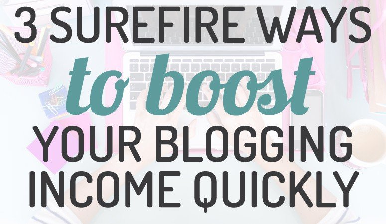 If you are a blogger looking for ways to boost your blogging income, this is a must read. I never would have thought of some of this simple suggestions!