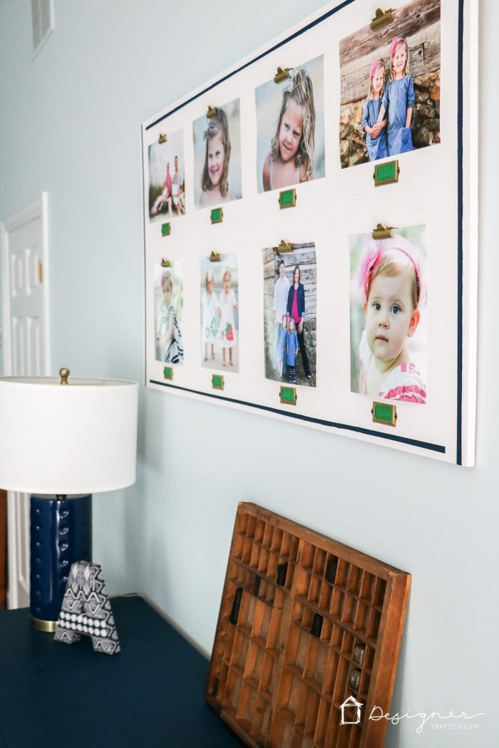 personalized DIY photo frames