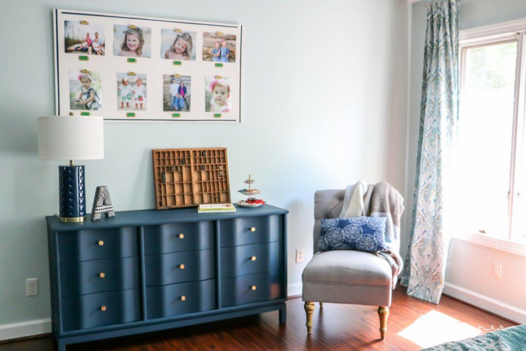 If you have ever wondered how to paint wood furniture in a way that will actually LAST a long time, this is the post for you! This full tutorial teaches you how to paint wood furniture--it's all about the prep work and paint you use. #ad
