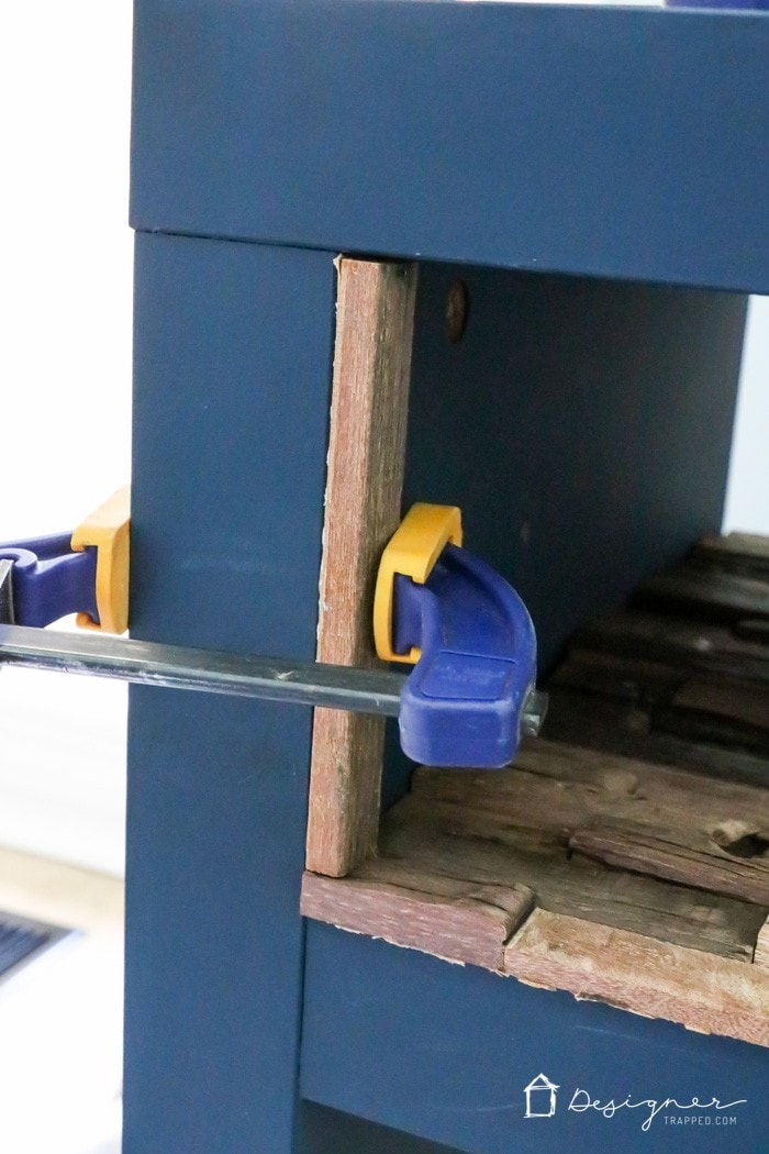 OMG, this is hands down the best Ikea Lack hack I have seen! I assumed it would be hard to get all those pieces of wood attached to the inside but this method looks SO EASY. Totally doing this the next time I can get to Ikea!